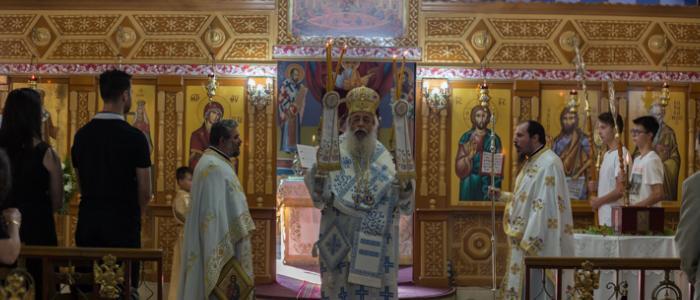 Αρχιερατική Θεία Λειτουργία στο Μεγαλοπρεπή Ναό των Αγίων Κωνσταντίνου και Ελένης Νέας Μαγνησίας