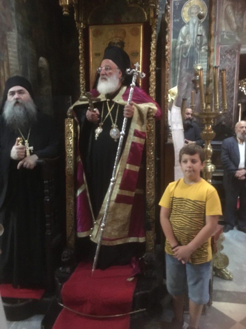 Άγιο Όρος: Ιερά Αγρυπνία και Χειροτονία Πρεσβυτέρου