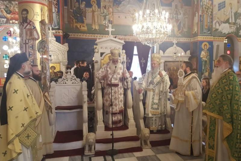 Αρχιερατικό Συλλείτουργο στο Προσκύνημα του Οσίου Ιωάννου του Ρώσσου