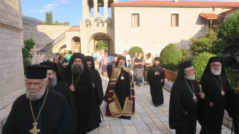 Κοσμοπλημμύρα στη Μονή Προφήτη Ηλία Παρνασσίδος