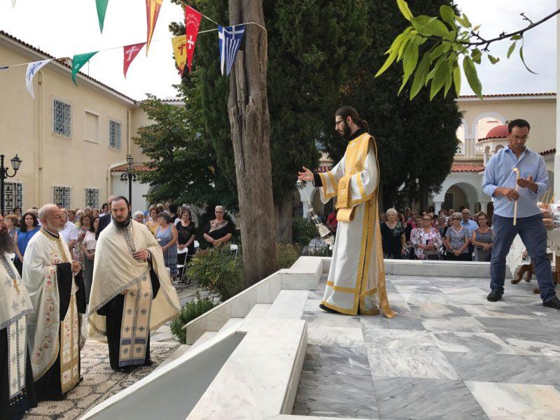 Προφήτης Ηλίας - Κηφισιά Τώρα: Κοσμοπλημμύρα στο Μητροπολιτικό παρεκκλήσι