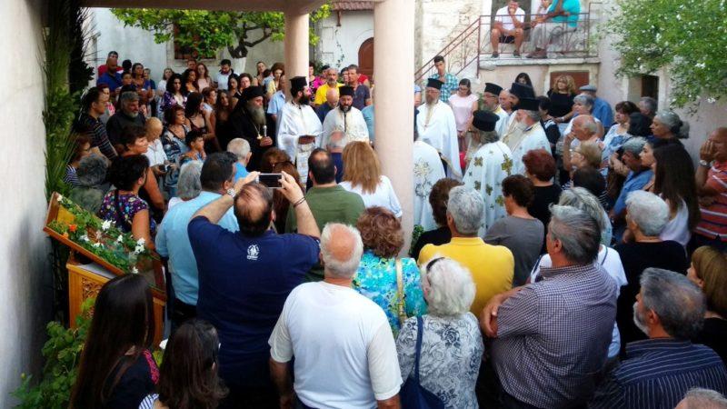 Πλήθος κόσμου στην Πανήγυρη της Πατριαρχικής και Σταυροπηγιακής Μονής Προφήτου Ηλιού Ρουστίκων
