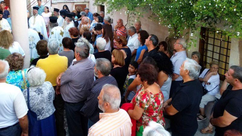 Πλήθος κόσμου στην Πανήγυρη της Πατριαρχικής και Σταυροπηγιακής Μονής  Προφήτου Ηλιού Ρουστίκων 227c9aa1c76