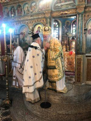 Αρχιερατική Θεία Λειτουργία στον Ιερό Ενοριακό Ναό Αγίου Γεωργίου Έξω Μουλιανών Σητείας