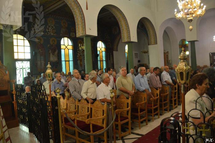 Αρχιερατική Θεία Λειτουργία στον Ι.Ν.Αγίων Αναργύρων Διαβατών