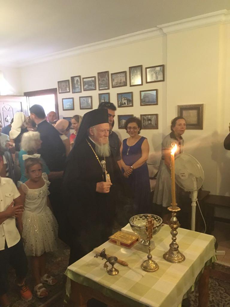 Ο Οικουμενικός Πατριάρχης εγκαινίασε το επισκοπείο στην Αττάλεια