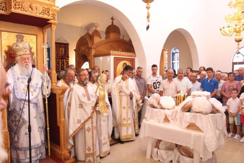 Λαμπρή Εορτή της Αγίας Παρασκευής στη Μητρόπολη Παραμυθίας