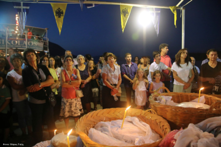 Λευκάδα: Μέγας Πανηγυρικός Αρχιερατικός Εσπερινός στον Ναό Αγίας Κυριακής Βλυχού