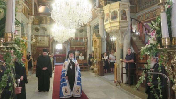 Μεταμόρφωση Σωτήρος: Η πανήγυρις του Μητροπολιτικού Ναού στην Ερμούπολη