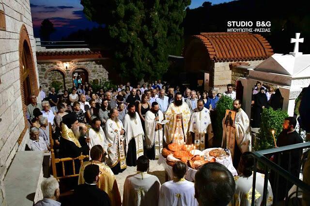 Η Αργολίδα τιμά το Προστάτη της Άγιο Θεοδόσιο το Νέο