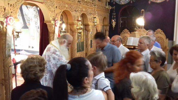 Κοζάνη: Σιατίστης Παύλος και πλήθος πιστών στην Εορτή του Αγίου Νεομάρτυρα Τριανταφύλλου εκ Ζαγοράς