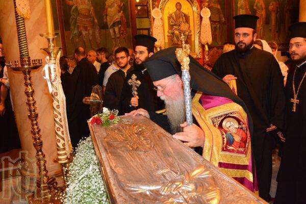 Θεσσαλονίκη: Λαμπρός Εορτασμός της Αγίας Θεοδώρας της μυροβλύτιδος