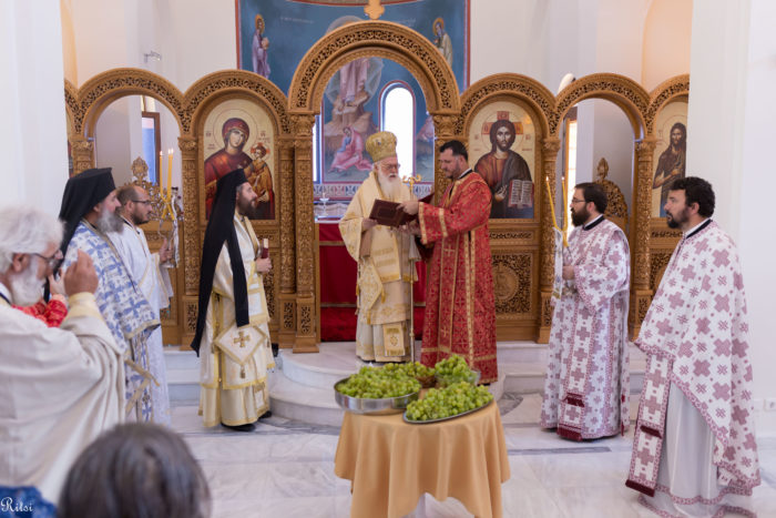 Τίρανα: Θεία Λειτουργία για τον εορτασμό της Μεταμόρφωσης του Σωτήρος