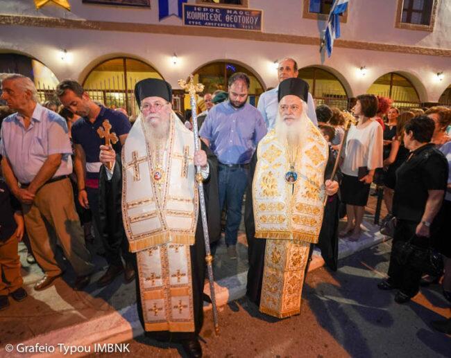 Πανηγυρίζει ο Πολιούχος της Νάουσας Άγιος Θεοφάνης ο θαυματουργός