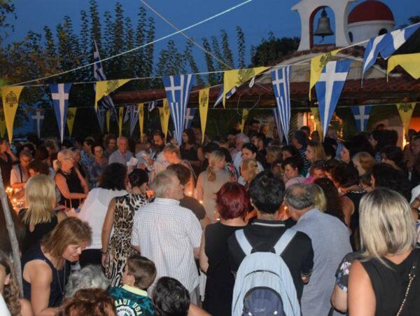 Εορτάστηκε η μνήμη του Αγίου Φανουρίου στη Χαλκίδα