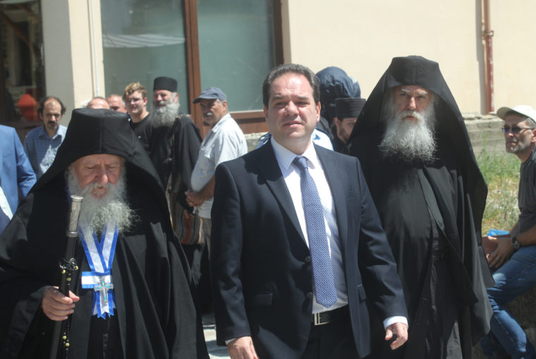 Αγιο Ορος: Καθήκοντα πολιτικού διοικητή ανέλαβε ο Κωστής Δήμτσας