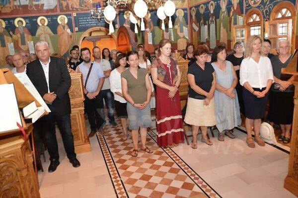 Τιμίου Προδρόμου: Λαμπρός Εορτασμός στη Μονή Βαρλαάμ
