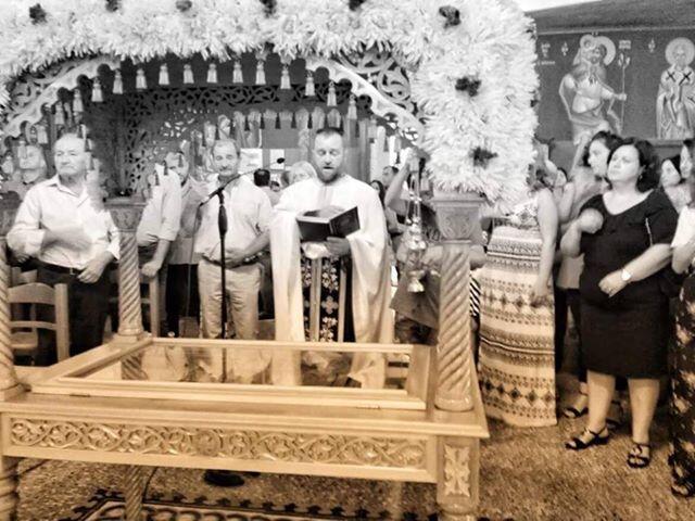 Λαμπρός εορτασμός της Κοιμήσεως της Θεοτόκου στην Παναγία Κερασοβίτισσα