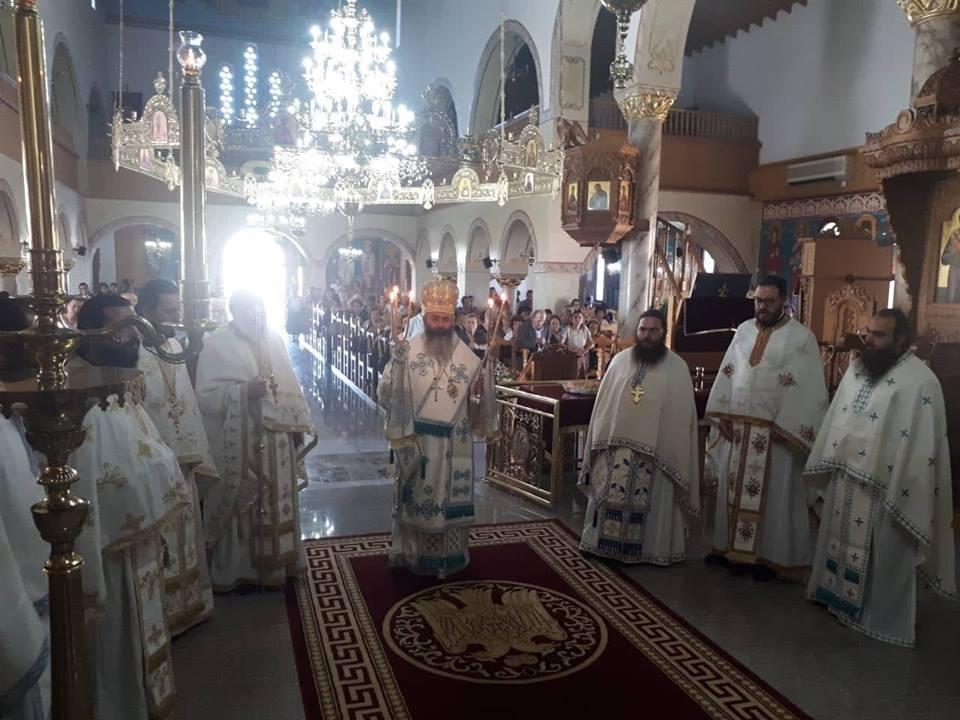 Λαμπρή Εορτή Αγίας Φωτεινής της Καρπασίτιδος στη Μητρόπολη Λεμεσού