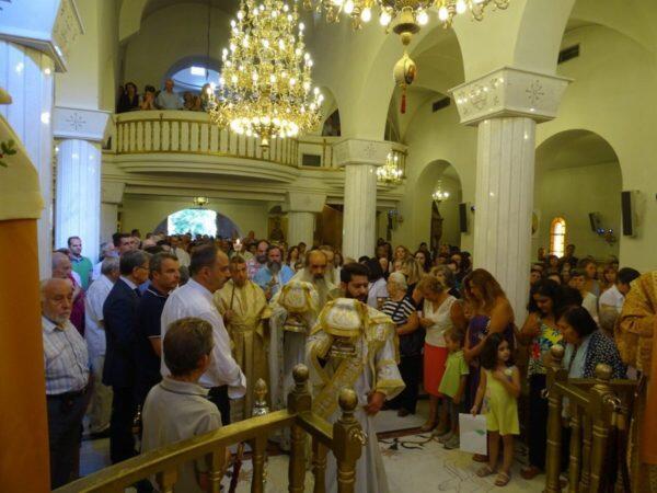 Κοίμηση της Θεοτόκου: Λαμπρός Εορτασμός στη Νέα Ιωνία