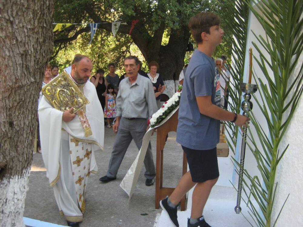 μεταμόρφωση του σωτήρος πάτερ Γεράσιμος Βασιλόπουλος
