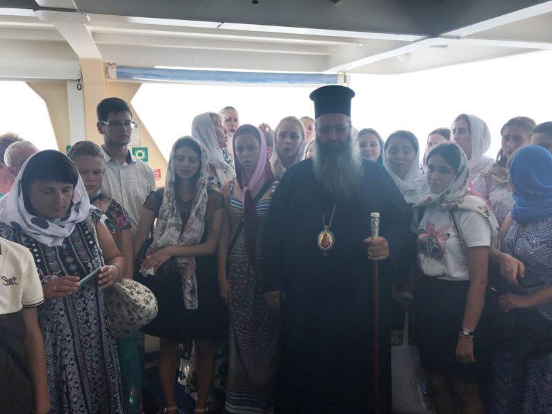 Προσκυνηματικός Περίπλους του Αγίου Όρους από την Ιερά Μητρόπολη Κίτρους, Κατερίνης και Πλαταμώνος