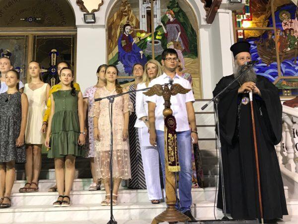 Μουσική πανδαισία και θρησκευτική κατάνυξη στη συναυλία εκκλησιαστικής μουσικής στην Παραλία Κατερίνης