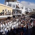 Παναγία Τήνου: Χιλιάδες πιστοί στη μεγαλειώδη λιτανεία