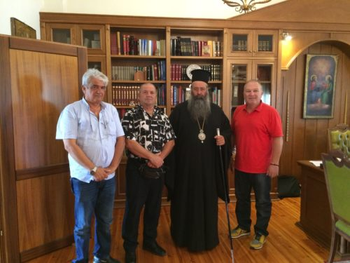 Επίσκεψη του Πιερικού στον Σεβασμιώτατο Μητροπολίτη Κίτρους Γεώργιο