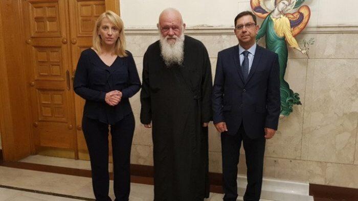 Εκκλησία της Ελλάδος και Περιφέρεια μαζί για τους πυροπαθείς