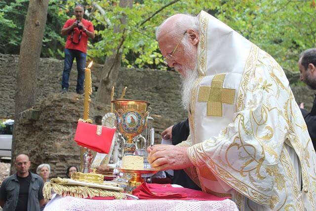 Προσκύνημα στη Φανερωμένη Κυζίκου με τον Οικουμενικό Πατριάρχη