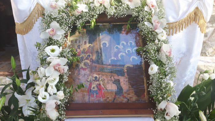 Λαμπρή Εορτή της Κοιμήσεως της Θεοτόκου στον Οξύλινθο