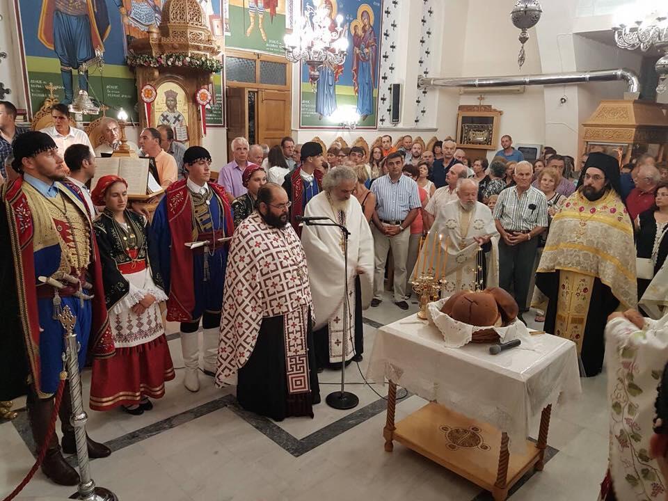 Λαμπρός εορτασμός του Αγίου Φανουρίου στον Κάτω Γαλατά
