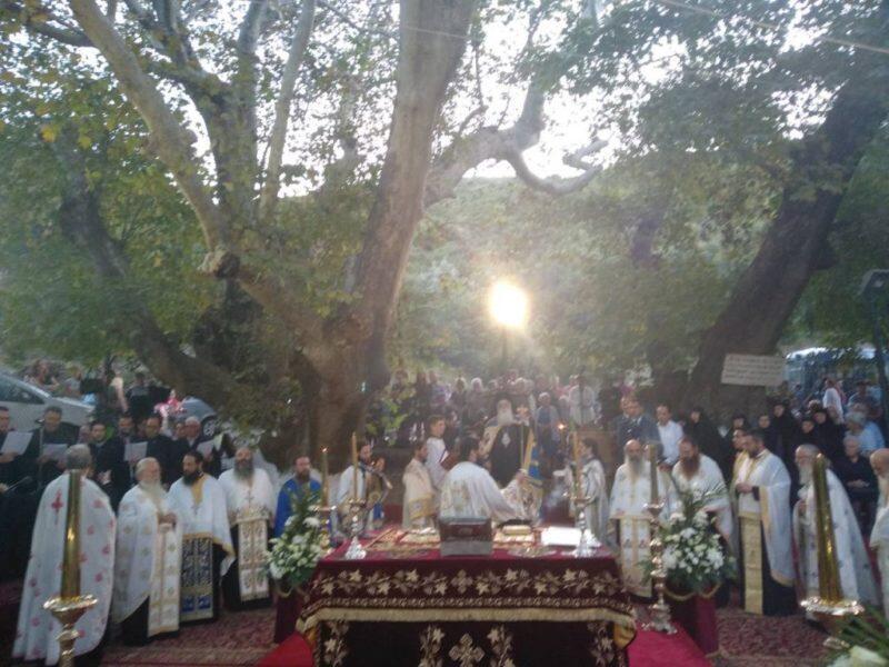 Δημητριάδος: «Ζωντανό θαύμα η αποκατάσταση της παλαιάς Ιεράς Μονής Παναγίας Ξενιάς»