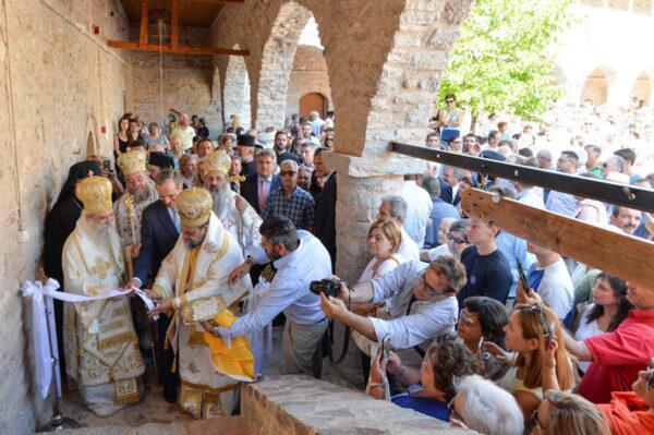 Μητρόπολη Μεσσηνίας: Εγκαίνια στην ιστορική Ι.M. Κοιμήσεως της Θεοτόκου Βουλκάνου