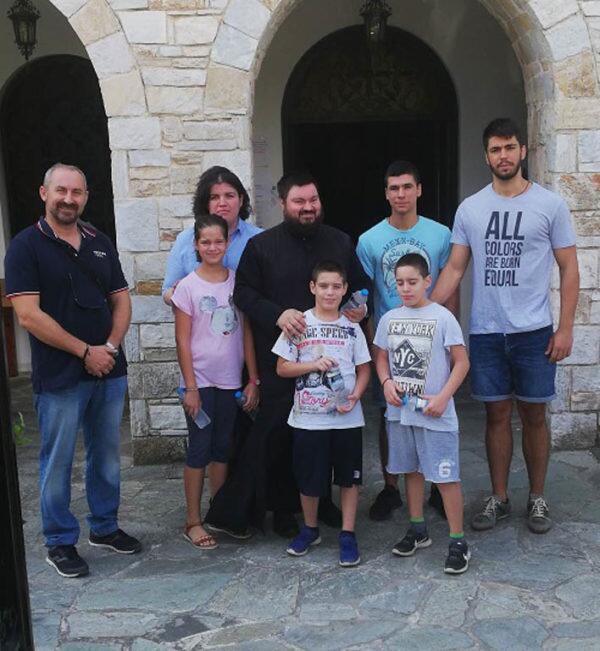 Οι Νέοι μας στον τόπο όπου δάκρυσε όλη η Ελλάδα