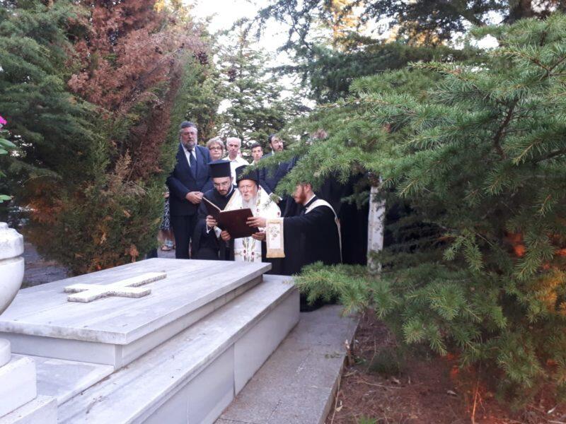 Ο Οικουμενικός Πατριάρχης στη Νήσο Αντιγόνη για την Εορτή της Μεταμορφώσεως