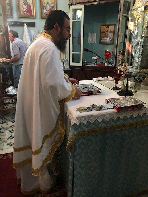 Η Πανήγυρις της Μεταμορφώσεως του Σωτήρος στον ομώνυμο Ναό στο Σταυρό Ιθάκης