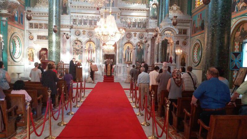 Η Παράκληση στην Παναγία την Ελπίδα με τον Οικουμενικό Πατριάρχη