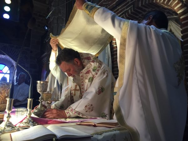 Ποιμαντική Διακονία του Μητροπολίτη Χαλκίδος