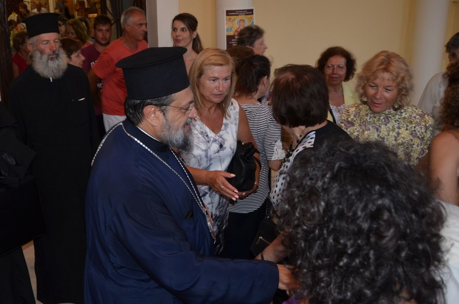 Η τελευταία παράκληση στην Παναγία από τον Μεσσηνίας Χρυσόστομο