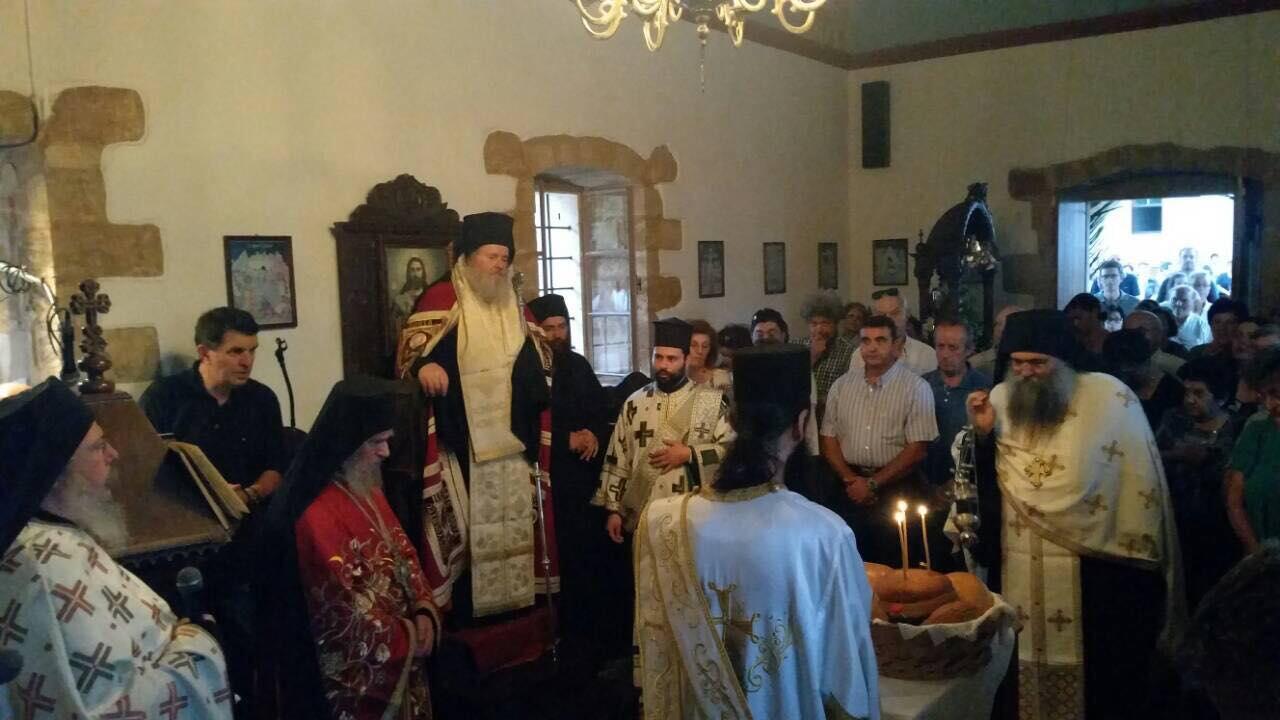 Κοίμηση της Θεοτόκου: Λαμπρή Εορτή στο Μετόχι της Μονής Μεγίστης Λαύρας στα Χανιά