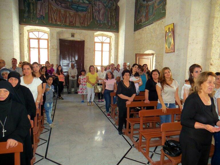 Συρία: Πρώτη λειτουργία στην ορθόδοξη μονή της Αγ. Θέκλας στην ιστορική Μααλούλα