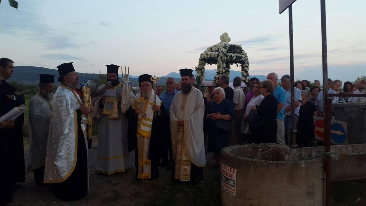 Η Εορτή της Κοιμήσεως της Θεοτόκου στη Μητρόπολη Αιτωλίας