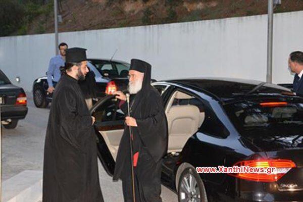 Στην Ξάνθη από χτες ο Αρχιεπίσκοπος Ιερώνυμος