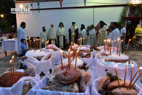 Ναύπλιο: Η εορτή των Αγίων Αδριανού και Ναταλίας στον Άγιο Αδριανό