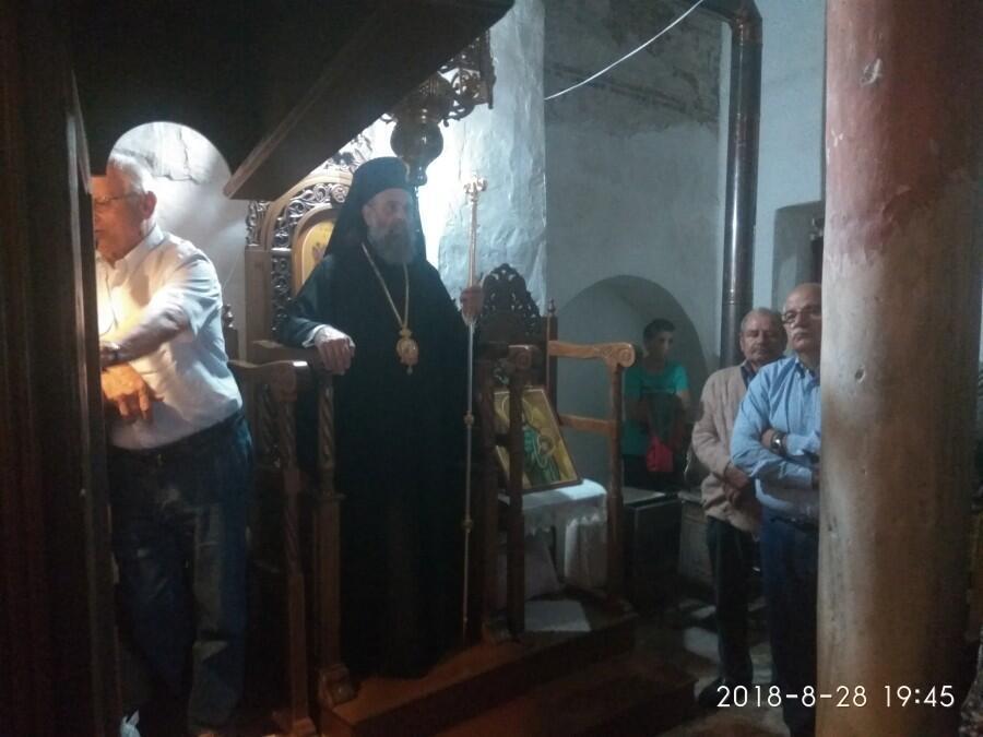 Πανηγυρικός Εσπερινός στην ιστορική Ιερά Μονή Τιμίου Προδρόμου Παληουρίου