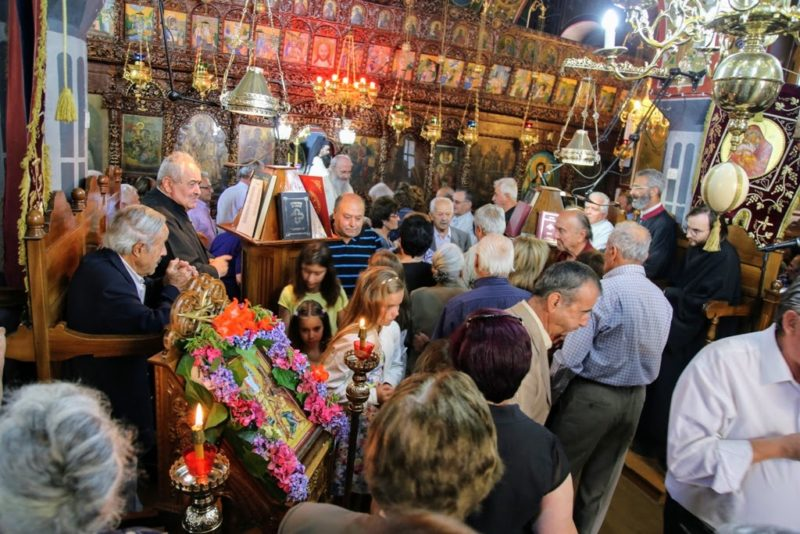 Μεταμόρφωση Σωτήρος: Λαμπρή Εορτή στη Μητρόπολη Ναυπάκτου