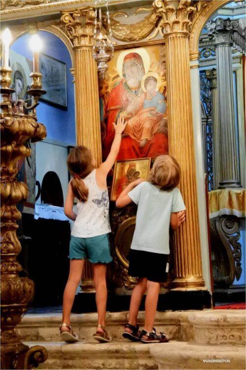 Ζάκυνθος: Η πρώτη παράκληση στην Παναγία εν Βανάτω για τους πυρόπληκτους