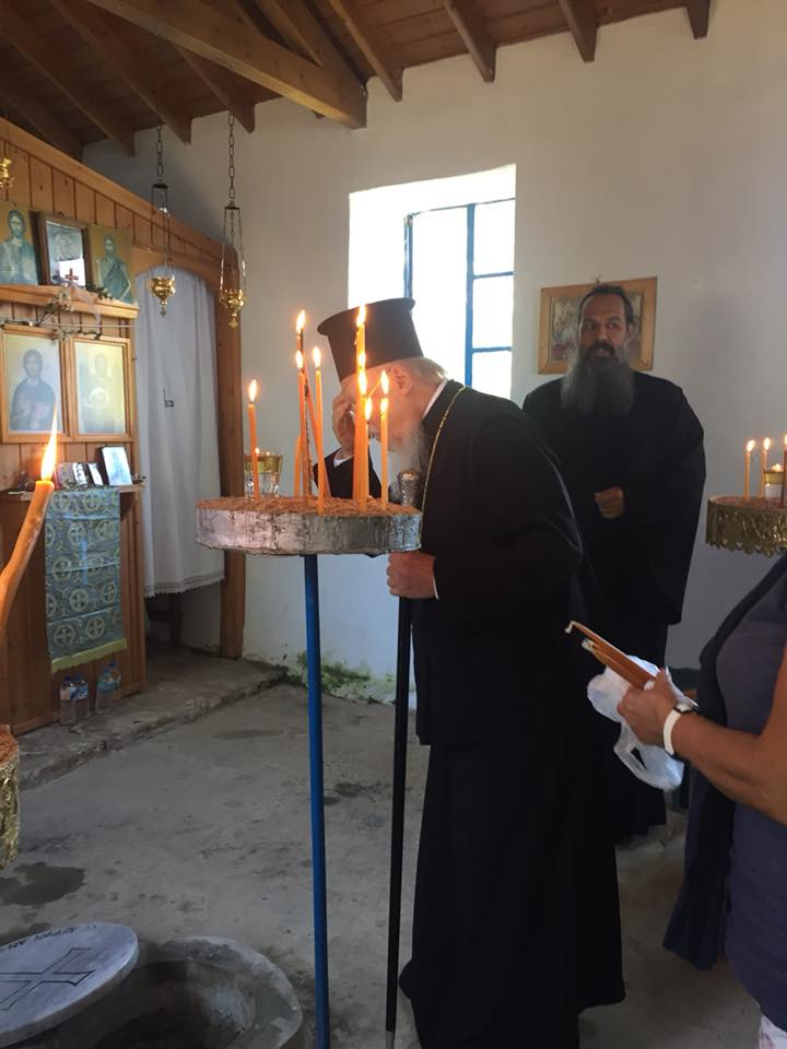 Ο Πατριάρχης στην Παναγία την Μπαλωμένη Ίμβρου